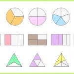 Fractions-shaded-shapes